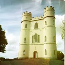 belvedere castle devon england small castle amongst the forest