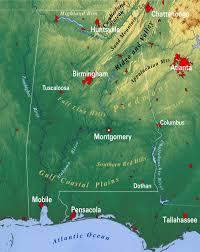 map usa alabama reference map of alabama usa nations project