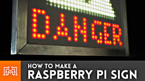 how to make a halloween light show raspberry pi 3 display sign electronics how to youtube