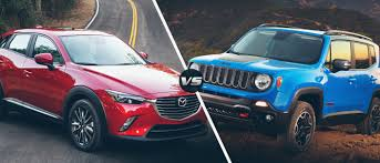 mojave jeep renegade suv showdown jeep renegade vs mazda cx3