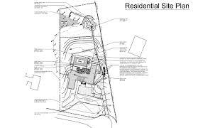residential site plan residential plot plan exle tiny houses
