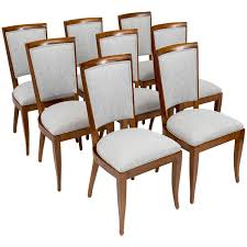 Art Deco Dining Room Art Deco Period Set Of Eight Dining Chairs By Dominique Jean