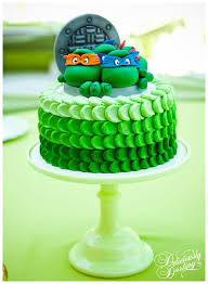 tmnt cake topper cowabunga mutant turtles party ideas b lovely