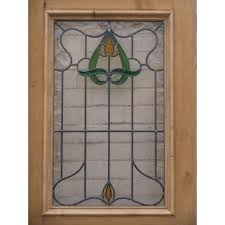 stained glass door patterns edwardian original stained glass exterior door art nouveau design