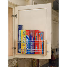 rev a shelf 4wfr 21 1 large door mount foil rack pantry drawers