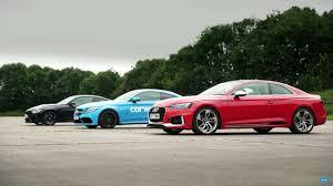 bmw vs audi race audi vs mercedes vs bmw in german drag race motor1 com photos