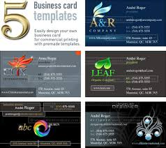 collection of photoshop design templates five corporate identity