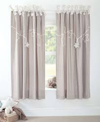 Nursery Curtain Tie Backs by Mamas U0026 Papas Millie And Boris Lined Tie Top Curtains 132 X 160 Cm