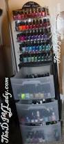 the do it yourself lady my nail polish storage got an upgrade
