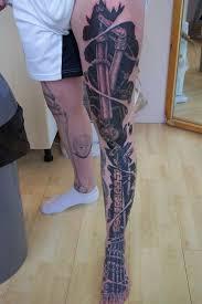 biomechanical tattoos 20 totally amazing biomechanical designs