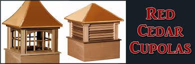 Weathervanes For Cupolas Cedar Cupolas Red Cedar Cupolas By Weathervanes Of Maine Inc