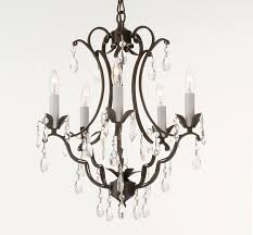 Candle Holder Chandeliers Vintage Look Modern Black Wrought Iron Chandeliers With Hanging