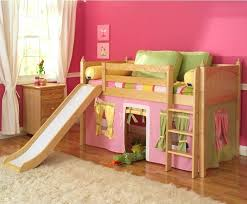 Princess Bunk Bed With Slide Impressive Princess Loft Bed Size Of Bed With Slide For