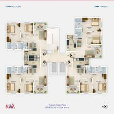 Smart Floor Plan by Floor Plan Tata Housing Riva