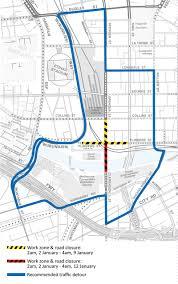 Melbourne Tram Map Yarra Trams Tram Improvement Work Flinders Street U0026 Spencer