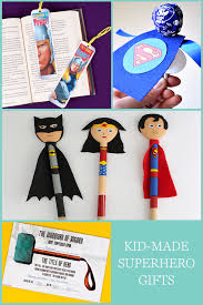 kid made father u0027s day gifts superhero edition babble