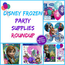 frozen party supplies disney frozen party supplies roundup simplee thrifty