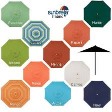 Patio Umbrella Sunbrella Sunbrella Patio Umbrella Darcylea Design
