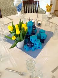 baby boy centerpieces my best friend s baby shower merital bliss