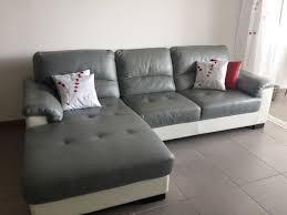 mobilier de canapé cuir canapés en cuir occasion à martinique 97 annonces achat et vente
