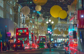 london christmas lights walking tour christmas lights decoration at regent street and lots of people