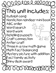 first grade wow reindeer games