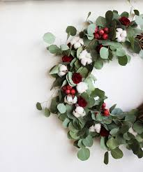 Holiday Wreath Diy Holiday Wreath With Flower Factory Poppytalk