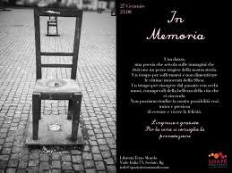 libreria terzo mondo seriate marted罧 27 gennaio giornata della memoria 窶彿n memoria