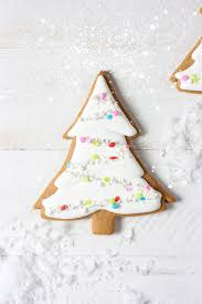 girly evergreen trees gingerbread cookies u0026 royal icing