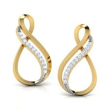infinity earrings infinity earrings jewellery india online caratlane