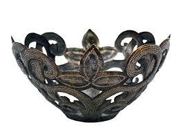 metal fruit basket metal fruit bowl bread basket handmade in haiti