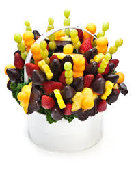 chocolate covered fruit baskets dipped fruit bouquet