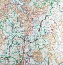 Georgia South Carolina Map Trails Map Of Brasstown Bald U0026 Chattooga River Chattahoochee
