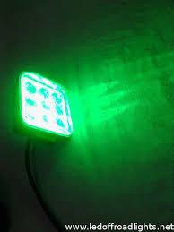led work lights for trucks 27w ip67 4d green led work light green lighting work ls green