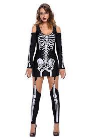 Skeleton Costume For Halloween X Rayed Halloween Skeleton Dress Costume Wholesale