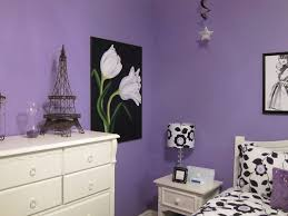 Eiffel Tower Ornaments Bedroom Cool Teen Bedroom Makeover With Purple Wall Color And