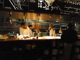 vibrant creative restaurant open kitchen concept restaurant open
