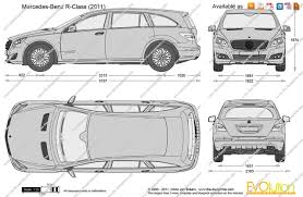 lexus is300 drawing the blueprints com vector drawing mercedes benz r class w251