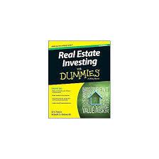 real estate investing for dummies paperback eric tyson u0026 robert