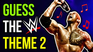 theme song quiz wwe wwe theme song quiz whose speaking 2 youtube