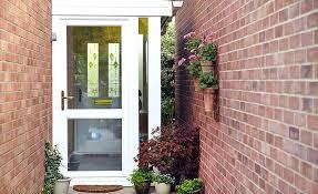 Exterior Doors Fitted Glazed Exterior Doors 2 Front Powncememe