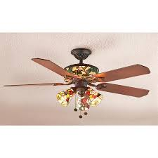 Mission Style Ceiling Fan Modern Tiffany Ceiling Fan Sustainable And Efficient Radiant