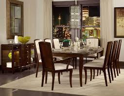 homelegance abramo dining set sapele walnut inlay d2125 102 din