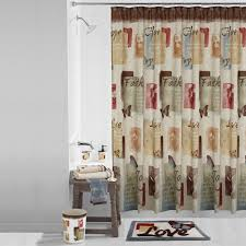 Palm Tree Shower Curtain Walmart by Mainstays Solace Fabric Shower Curtain Walmart Com