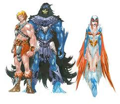 he man and the masters of the universe fantastic realistic interpretations of he man and the rest of the