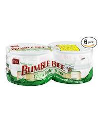 bumble bee chunk light tuna buy bumble bee chunk light tuna in water 4 count pack of 6 in