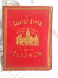 antique photo albums cabinet albums engravings of scotland edinburgh glasgow aberdeen