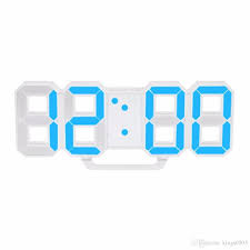 modern design large size digital led wall clock watch unique