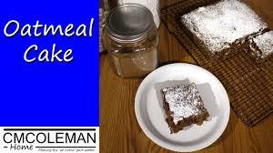 oatmeal cake recipe youtube