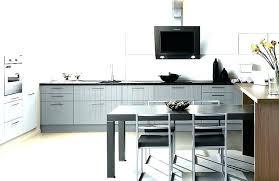 table cuisine grise table haute 4 personnes dimension table cuisine table cuisine 4